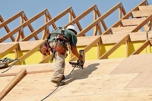 New roof installation in Lansing, MI