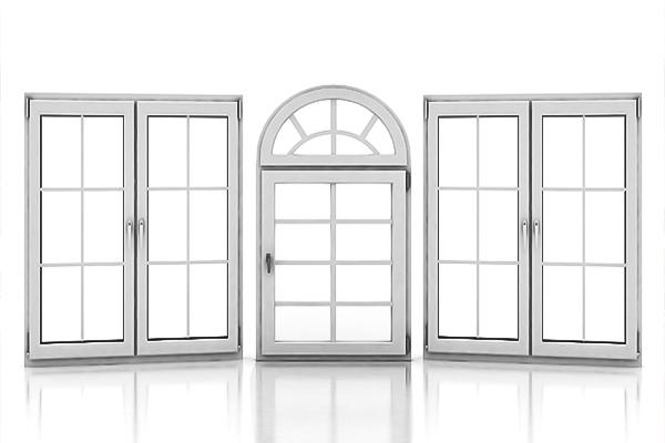 Windows in various styles